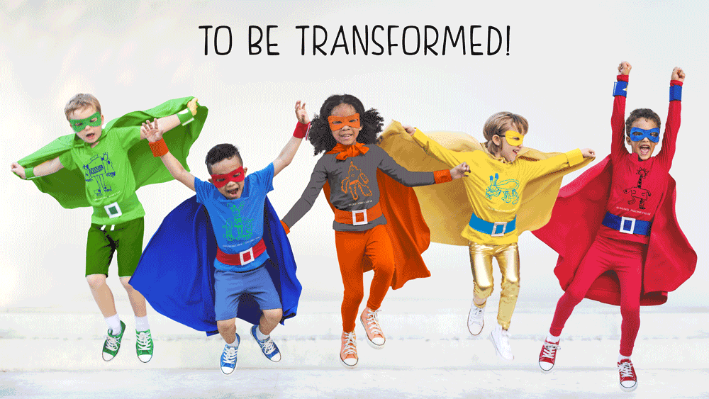to be transformed